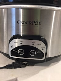 Black and gray crock-pot slow cooker Washington, 20001