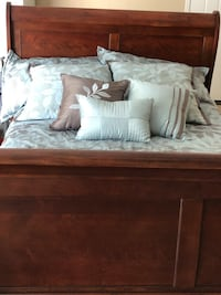 Queen bed with mattresses and comforter set  Gilbert, 85234