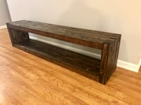 Handcrafted Bench with Storage New Orleans
