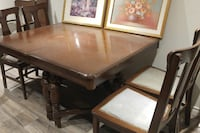 Dining Set - Solid Walnut, Excellent Deal! Etobicoke