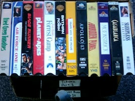 Alltime classic vhs movies
