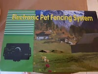 Electric pet fencing system
