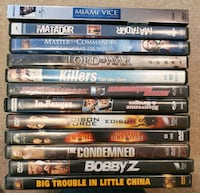 DVD Movie Lot 10 - Action Calgary, T2Z 4W6