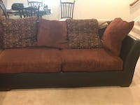 Sectional sofa. No longer need. Make an offer and pick it up. First come first served. Just need to get rid of it since I have new furniture coming.. It was sitting in storage, so it does need some cleaning. Upper Marlboro, 20774