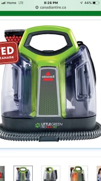 green and black Bissell vacuum cleaner Calgary, T1Y 4H3