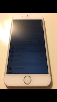 Unlocked to any carrier Silver iphone 6 16GB Washington, 20008