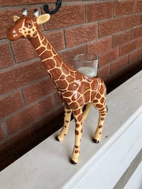Brown and white giraffe party light candle New Tecumseth, L9R 1C3