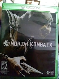Xbox One Mortal Kombat X game case Redlands, 92373