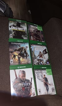 Xbox One Games(Prices in description)