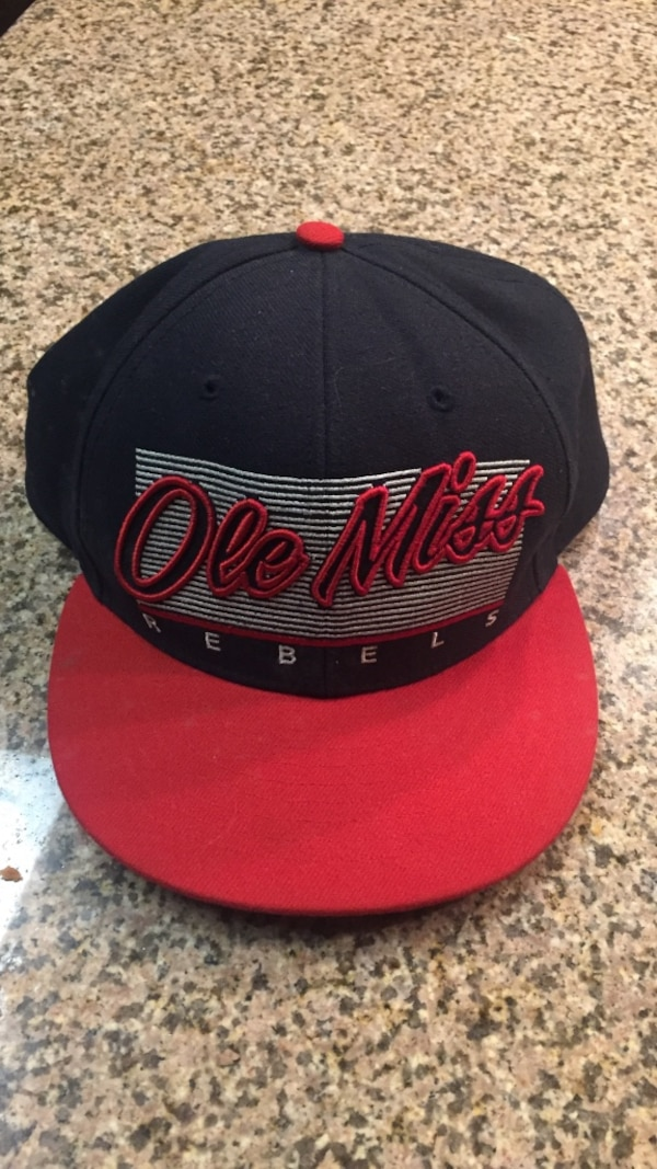 67d830c61d800 Used black red ole miss fitted cap for sale in Oxford - letgo
