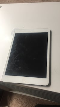 Barely used ipad mini with tempered glass