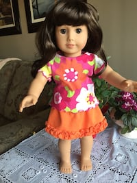 18 inch doll clothes.  $10 a set....dolls not for sale