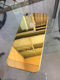 iPhone 5S 16GB Gold Plated - Unlocked ( Freedom works to ) Mississauga