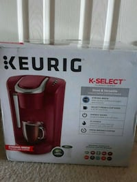 New Keurig k select coffee maker Laurel, 20723