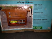 Tommy Bahama Wood Cooler NEW in box. It cost over $500 at Home Depot right now. Calabasas, 91302