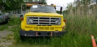 yellow and black 6500 GMC wrecker Woodstock, N4S 7V9