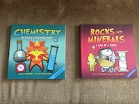 Basher Chemistry + Rocks and Minerals Books