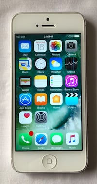 iPhone 5 - 16gb unlocked  Surrey, V3S 2E6