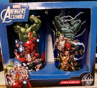 Marvel Avengers themed cup box
