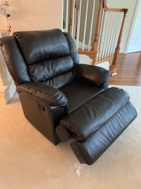 Brown leather recliner sofa chair Herndon, 20170