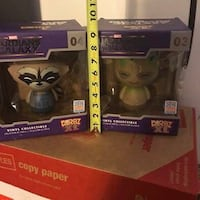 NEW XTRA LARGE ROCKET 04 and GROOT 03 Guardians of the Galaxy DORBZ XL 2015 Vinyl ( Extra-large) Pembroke Pines, 33026
