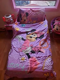 Minnie mouse toddler bed/comforter sheet set Antioch, 94509