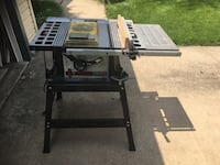 "Skillsaw 10"" table saw.   Includes 6"" stacked dado blades Mount Laurel, 08054"