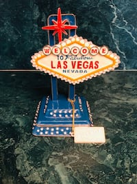 WELCOME TO LAS VEGAS sign pill and trinket jewelry box Ronkonkoma, 11720