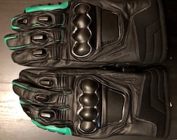 Winter Motorcycle leather gloves nee