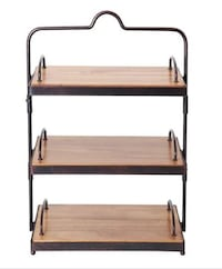 Mikasa Gourmet Basics Sierra 2 And 3 Tier Adjustable Buffet Stand Alexandria