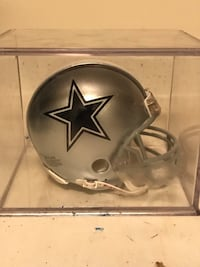 Signed miniature Dallas Cowboys Helmet  Havre de Grace, 21078