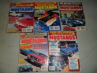 LOT OF 5 FABULOUS MUSTANGS MAGAZINES BACK ISSUES  [PHONE NUMBER HIDDEN]  [PHONE NUMBER HIDDEN]  Richmond Hill