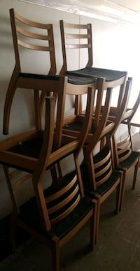 8 chairs all one money ! from my office !  Calgary, T2A 5R5