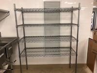 black metal 5-layer rack Arlington, 22206