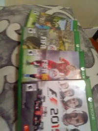 Xbox One game case lot 3155 km
