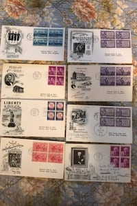 Former senator Holt 1947-54 first day covers issues all blocks of 4 Beltsville, 20705