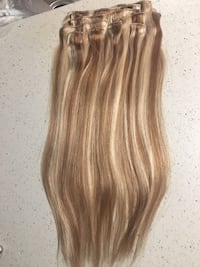"Hair extensions  Babe 10 piece clip in 20"". 160 grams.Brand new in box Burnaby, V3N 4R8"