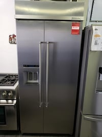 """36"""" Kitchenaid Built In Stainless Steel  Long Beach"""