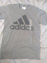 white and gray Adidas jersey shirt Woodlawn
