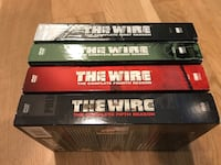 The Wire DVD sets, seasons 1,2,4,5. All for $20 Chicago, 60640