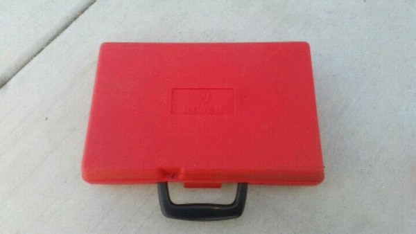 Ruger Red Plastic Carrying Case