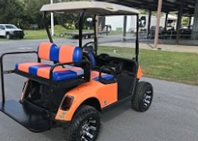 great running ___ freedom Electric golf cart ___
