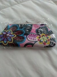 multicolored floral leather clutch Stoughton, 02072