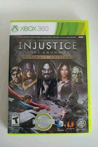 Injustice Ultimate Edition Xbox 360 AND Xbox One Mount Prospect, 60056