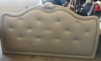 Silver Gray Tufted Full Bed Frame Simi Valley, 93065