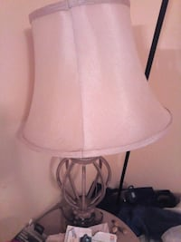 white and gray table lamp Tampa, 33624
