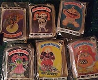 Garnage patch kids pins 7 of them ill take watever Dover, 19904