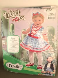 Brand new 6-12 baby dorthy costume Whitby, L1M 1H5