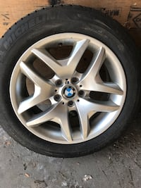 235/55/18 Michelin Tires with Original BMW M3 Rims / great condition/ 2016/17 tires