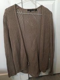Patterned Brown Cardigan  VANCOUVER